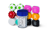 Contact lens cases