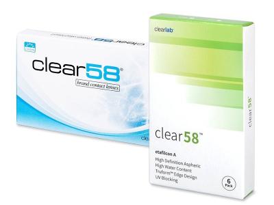 Clear 58 (6komleća)
