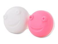 kontaktne lece - Posudica za vibracijsku kutiju - pink