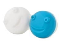 kontaktne lece - Posudica za vibracijsku kutiju - plava