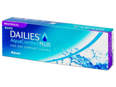 Dailies AquaComfort Plus Multifocal (30 kom leća)