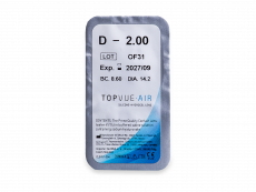 TopVue Air (6 kom leća)