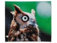 kontaktne lece - Krpica za čišćenje naočala – Sova
