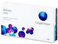 kontaktne lece - Biofinity Toric