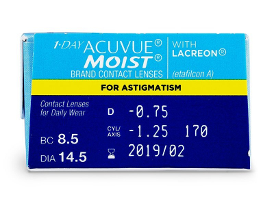1 Day Acuvue Moist for Astigmatism (30 kom leća)